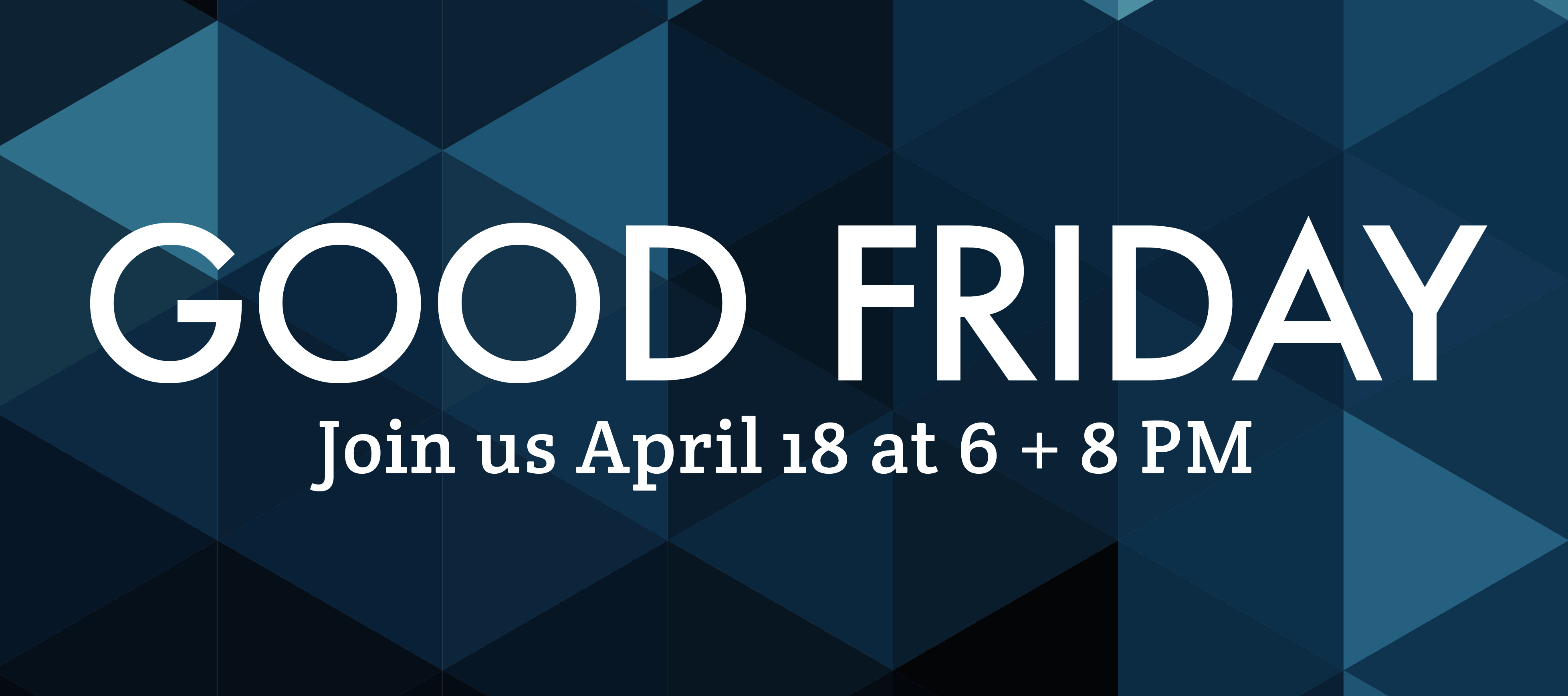 homepage | banner | good friday 2014