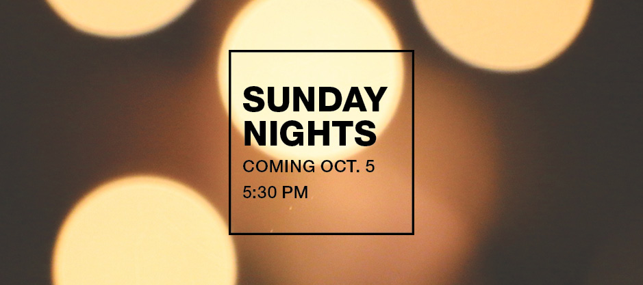 homepage | banner | sunday nights