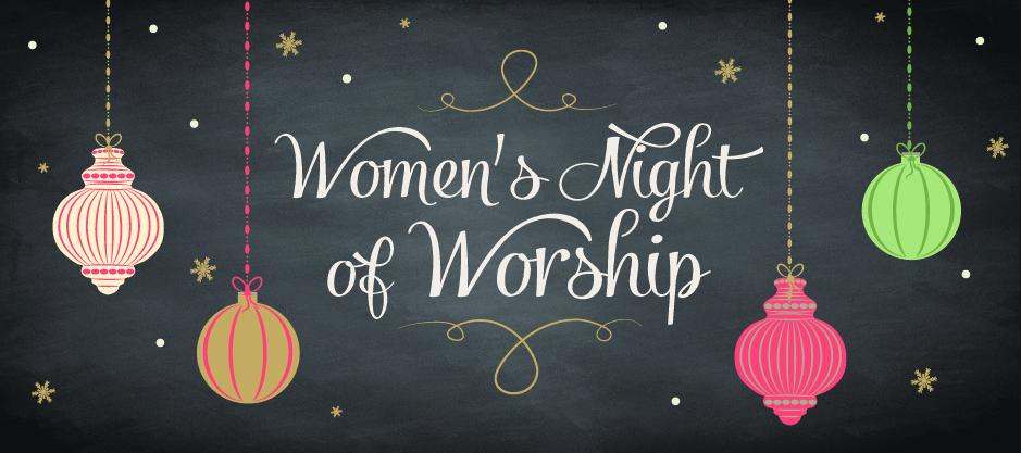 homepage | banner | women's night of worship 2014