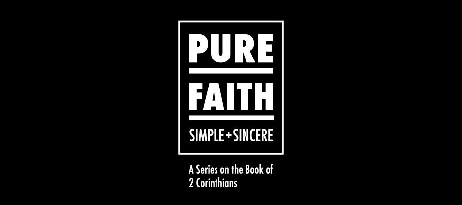 homepage | banner | 2 corinthians | pure faith