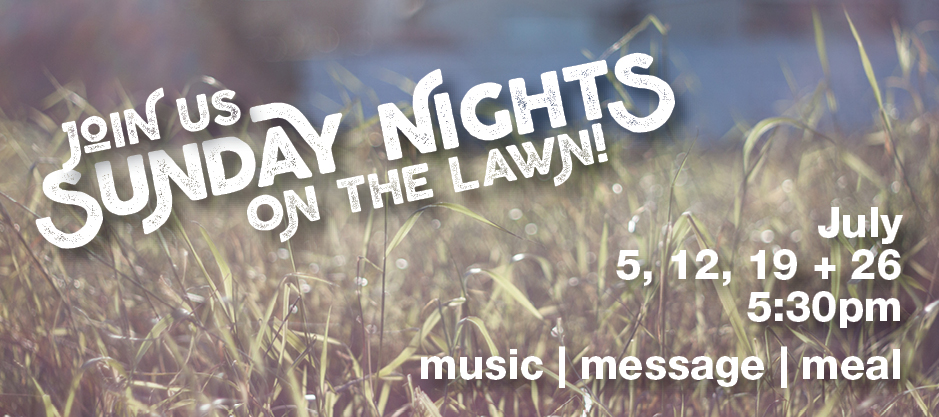 homepage | banner | sunday nights on the lawn