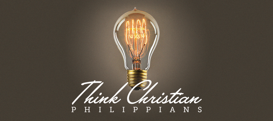 homepage | web banner | think christian philippians