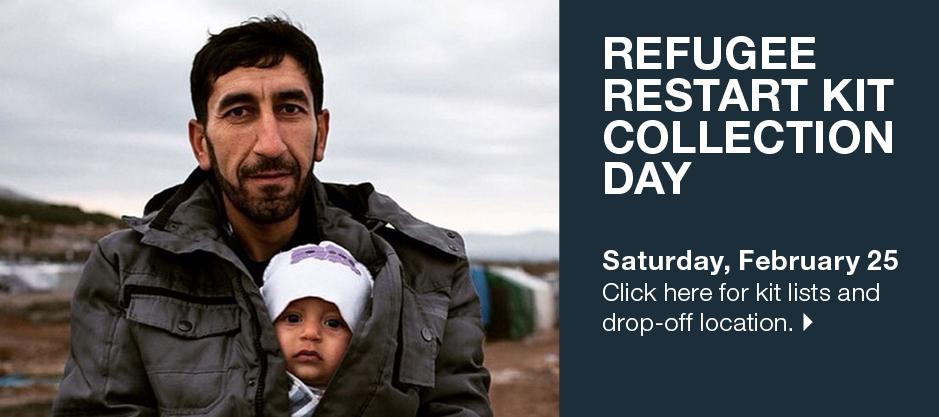homepage | banner | refugee kits